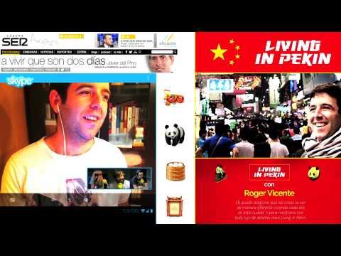 Living in Pekin: Entrevista a Roger Vicente en 'A vivir que son dos días' (Cadena SER)