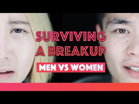 Surviving A Breakup | Men vs Woman