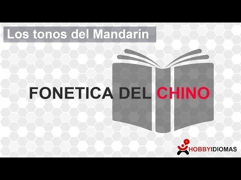 Los tonos del chino mandarín