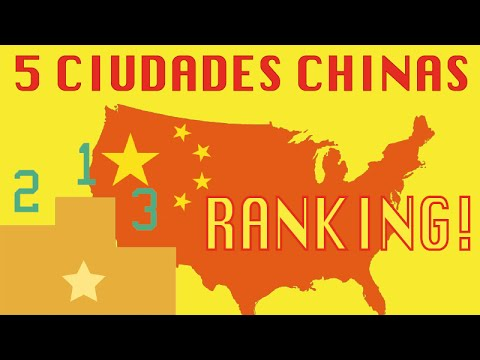 Las 5 ciudades más bonitas de CHINA (Versión antigua)
