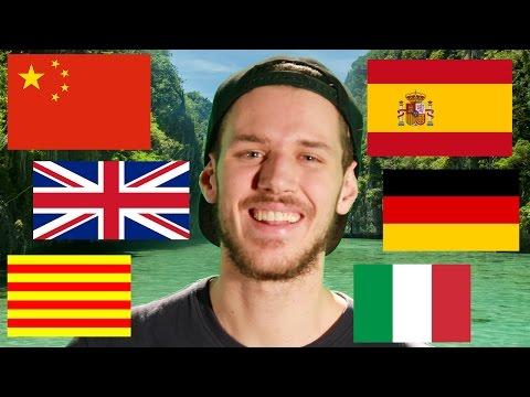 Chico hablando 6 idiomas | LA MEJOR RAZÓN para aprender idiomas