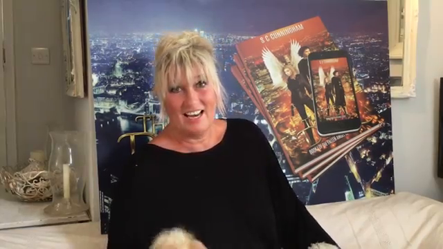 Never work with animals they said!! S C CUNNINGHAM talking about her new book 'THE DEAL'[1]