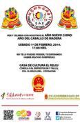 Año nuevo chino en Coyoacán - Ciudad de México