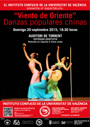 """Espectáculo gratuito: """"Viento de Oriente"""": Danzas populares chinas"""