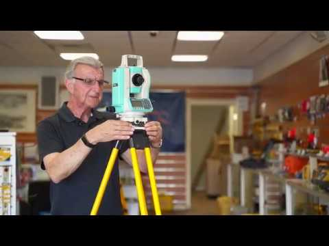 Setting up a Surveying Tripod - Quick Step Video