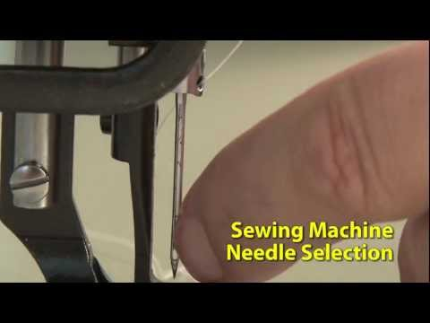 How to Select a Sewing Machine Needle Type