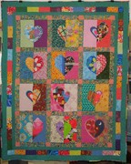 Lonely Hearts Block Swap - finished