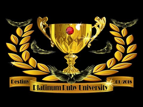 Platinum Ruby University(The Seven Dimensional Realms of the Kingdom Week One Class Syllabus)