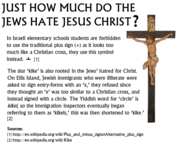Jews and the Cross