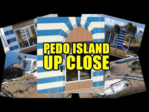 Footage CNN Wouldn't Air: PEDO ISLAND DRONE FLYOVER - CLOSE UP