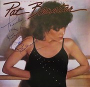 Pat Benatar Crimes Of Passion Signed LP