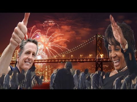 How The Zombie Leftists Running California Celebrated the 4th