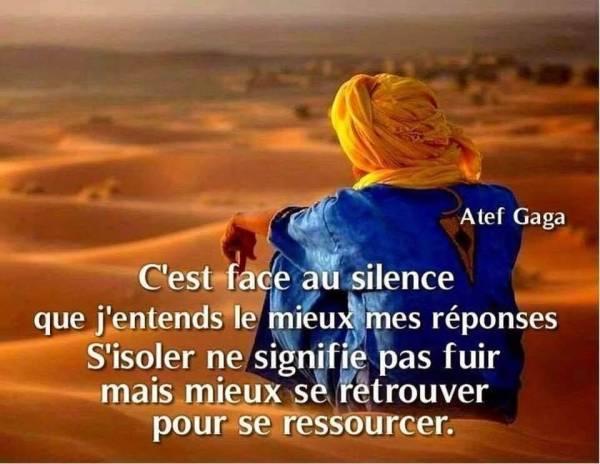 Entendre dans le silence