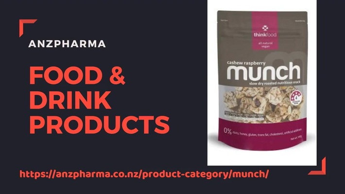 Buy healthy food & drink products in New Zealand - ANZPharma