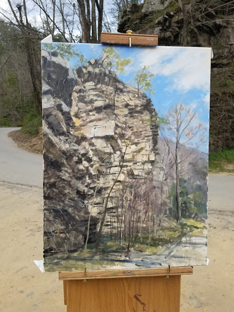 """Spring at Paint Rock"""