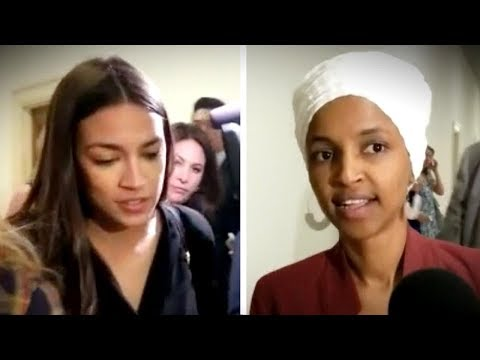 AOC, Ilhan Omar repeatedly REFUSE to condemn Antifa attack on ICE! | Keean Bexte