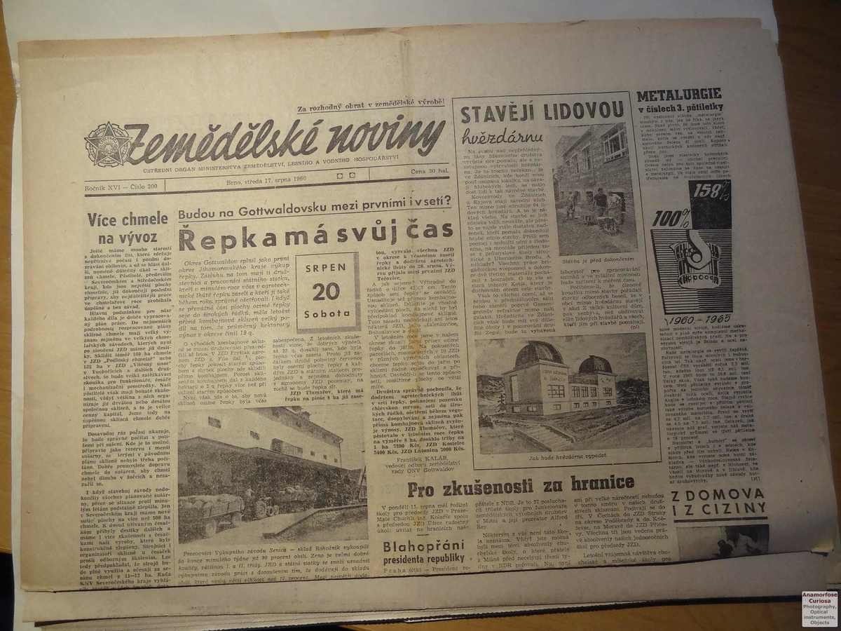 The Zdanice Observatory in the press