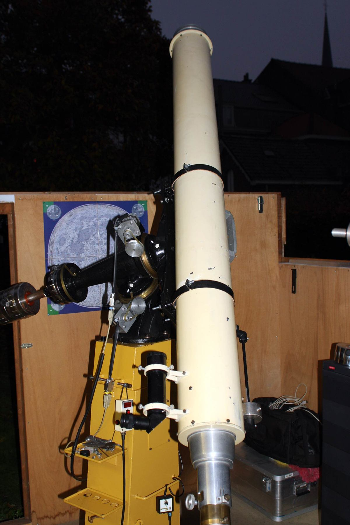 Observation report: first light 160mm Gajdusek-Kozelsky refractor & the Fullerscopes MK IV