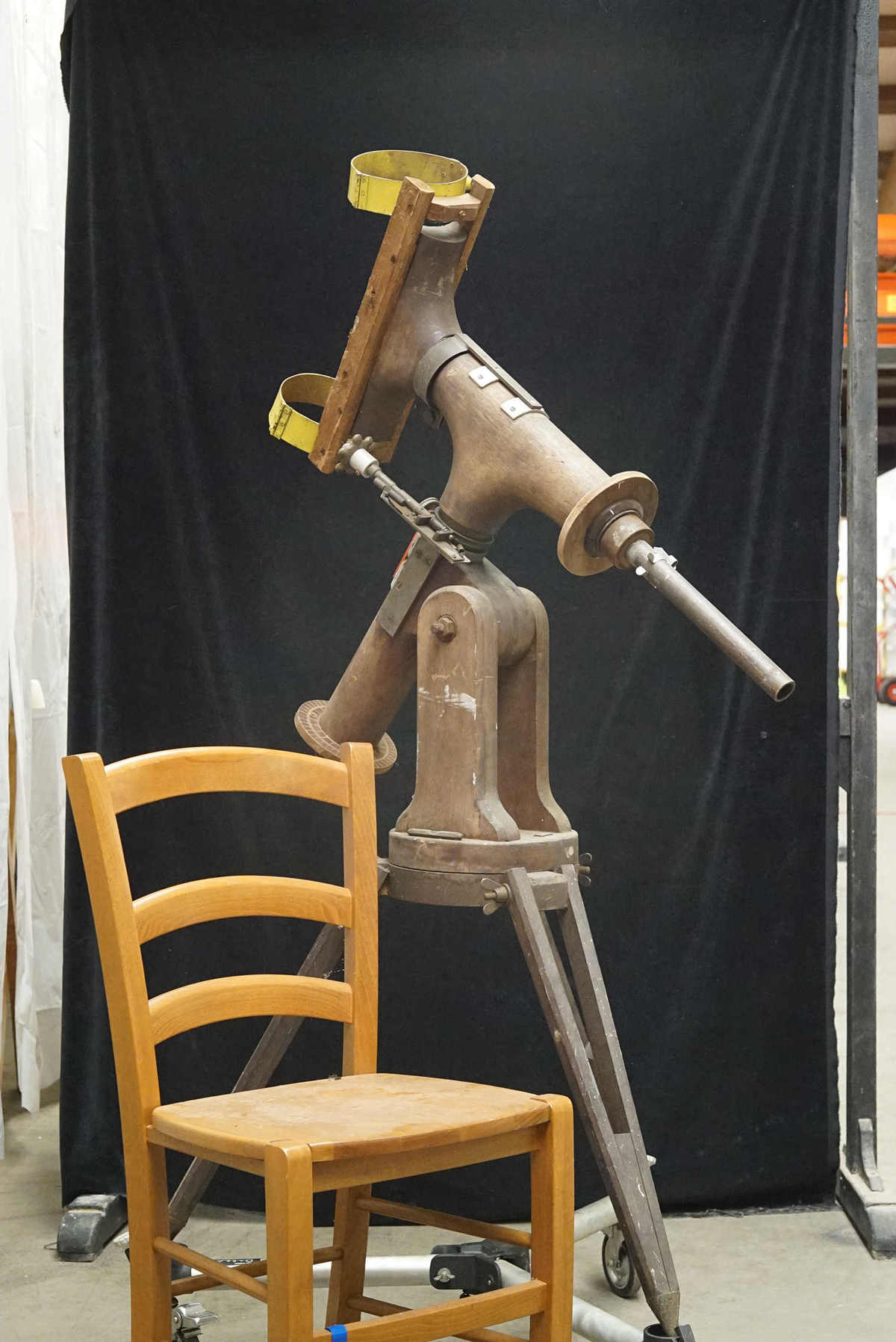 Wooden Equatorial Mount
