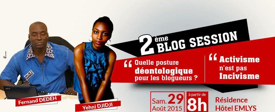 Déontologie du blogueur et civisme numérique au cœur d'un échange.