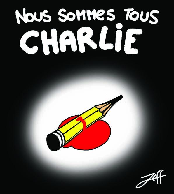 #JeSuisCharlie : les caricaturistes de Mondoblog rendent hommage à Charlie Hebdo