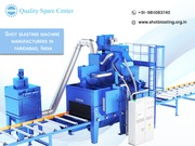 shot blasting machine manufacturers in faridabad india