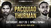 Pacquiao vs Thurman Watch Online LIVE PPV Stream Fight