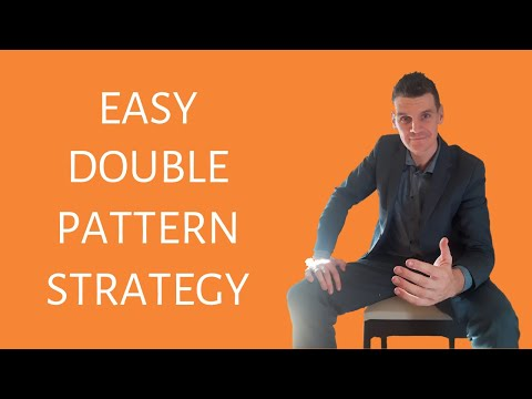 3 EASY STEPS: How To Trade The Double Top and Double Bottom Chart Pattern
