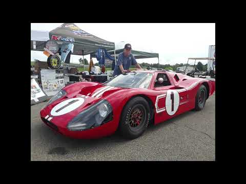 A Closer Look At the Ford GT40 MkIV Continuation  At the Team Shelby East Coast Grand Nationals