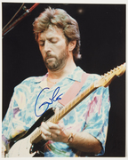 "''Sell:"" Eric Clapton,Boldly,Clearly Signed 8x10 Color Photo Mint Condition, Only: $279.00 PayPal Only,Free Shipping,Tracking  Extra."