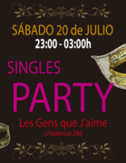 Singles Party 20/07