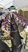 Being There-Reaching Out Memorial Boots Display