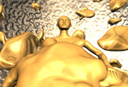 Golden dude
