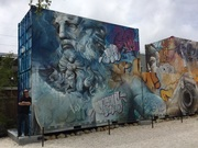 Visiting Wynwood Mural District, Miami FL