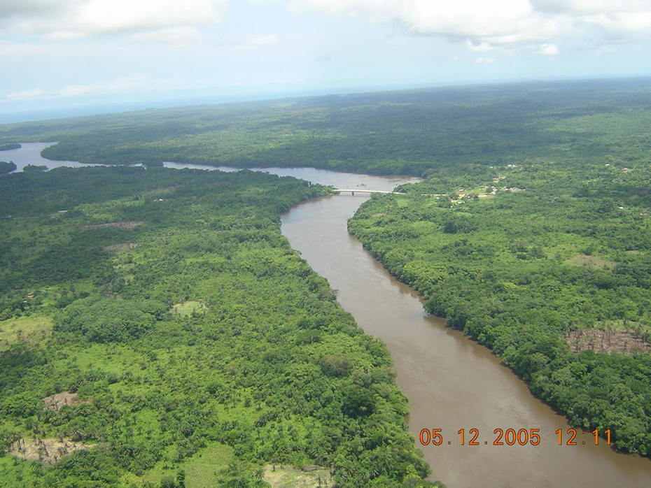St John River Crossing, Grand Bassa