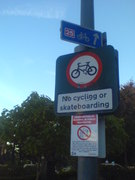 Bournemouth - joined up signage.