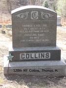 120th NY Co. E Collins, Thomas H. 1837-1920