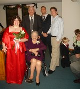 Rose's nieces wedding in January