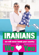 Iranians We Love You_