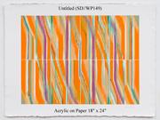 "Sydny Drum, ""(SD/WP148),  Phoenix Gallery 5/22-6/15/13"