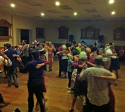 The Masonic Hall on Sat night of Summer Tango in Nelson