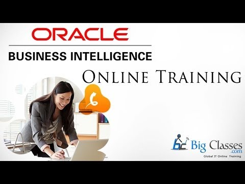 OBIEE Online Training | Oracle Business Intelligence 11g Video Tutorials