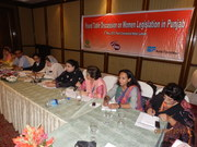 RHV OXFAM Round table discussion on women legislation in Punjab 8th May 2012 (1)