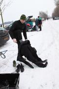 Ijsduiken in Vinkeveen 12-02-2012
