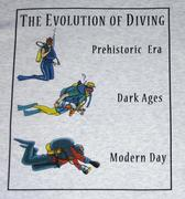 The Evolution of Diving