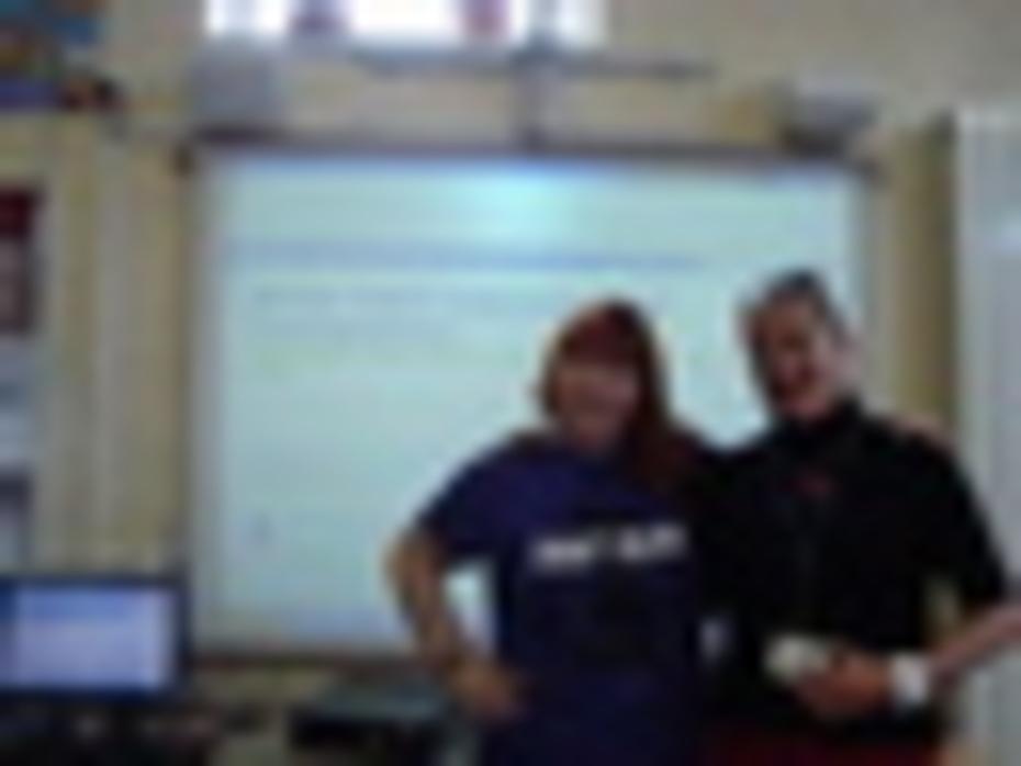 Danum, Write Path 15.10.2010, Lynne and Lesley.