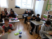 International Community School, London - MYP1 class hard at work