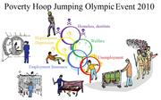 Poor Peoples Hoop Jumping Event 2010