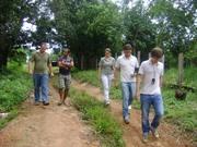 20 - Sr. Alarindo e equipe DOCUMENTO, no caminho para sua draga