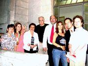 Augusto de Campos e grupo de estudo sobre Poesia Concreta